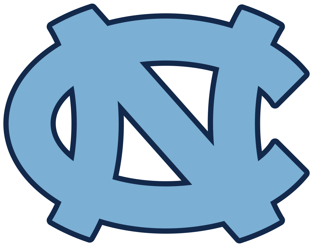 North Carolina Tar Heels.