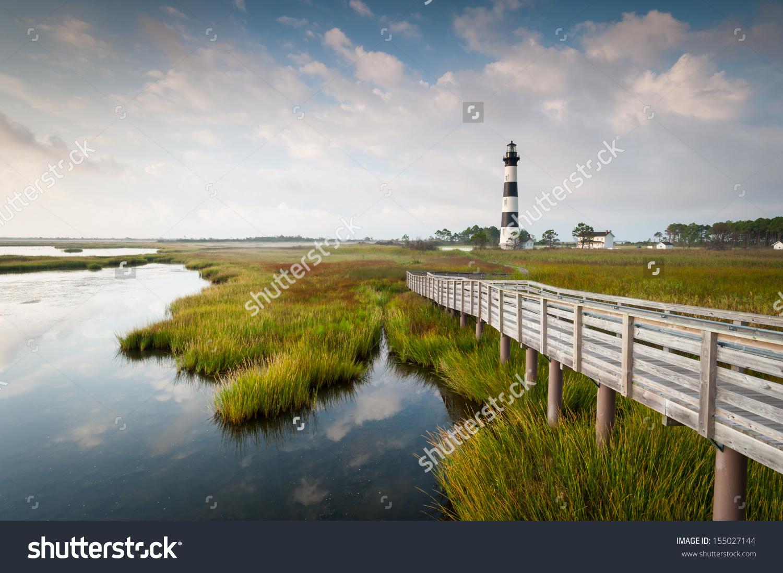 North Carolina Outer Banks Bodie Island Stock Photo 155027144.