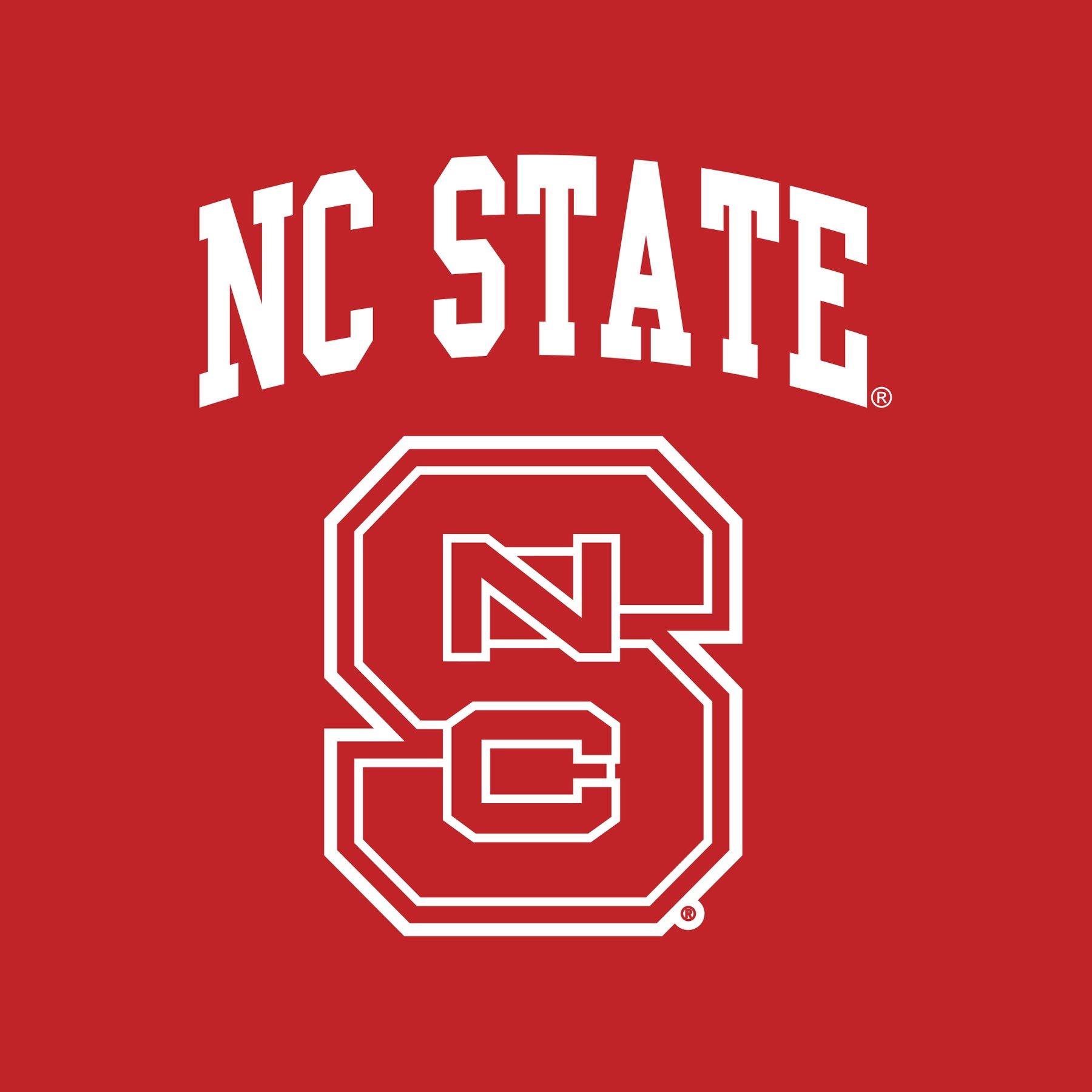 North Carolina State University Wolfpack Arch Logo Creeper.