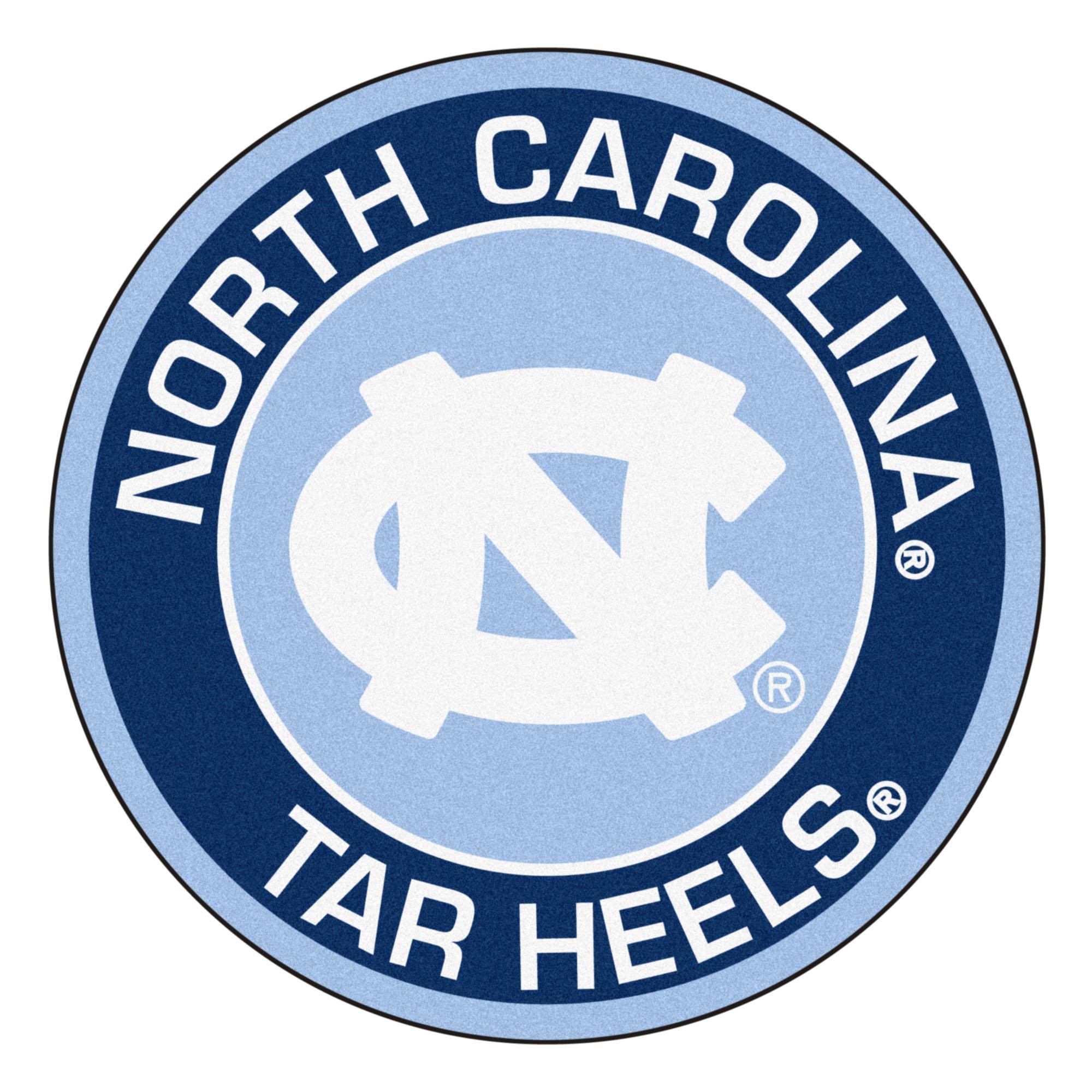 University of North Carolina Tar Heels Logo Roundel Mat.