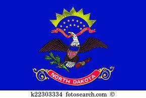 North dakota Clip Art Vector Graphics. 539 north dakota EPS.