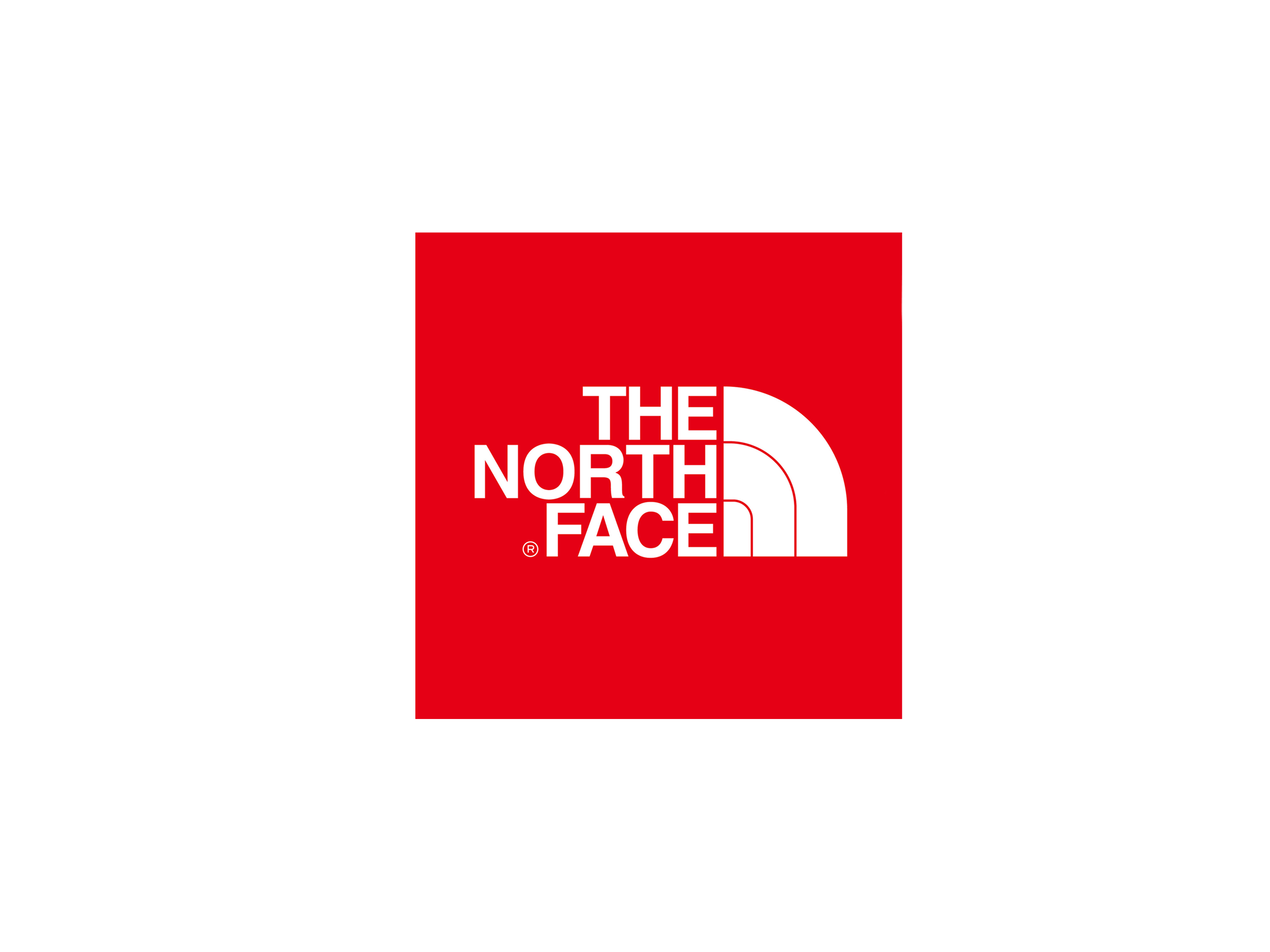 The North Face Logo transparent PNG.