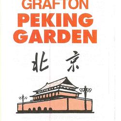 Peking Garden Restaurant.