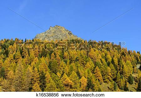Stock Images of Mount Sarezza (Ayas Valley, North Italy) k16538856.