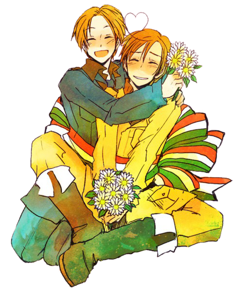 hetalia render } North Italy and South Italy 9 by Rendertalia on.
