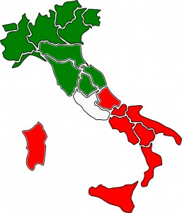 North versus South issues in Italy as seen by expats.