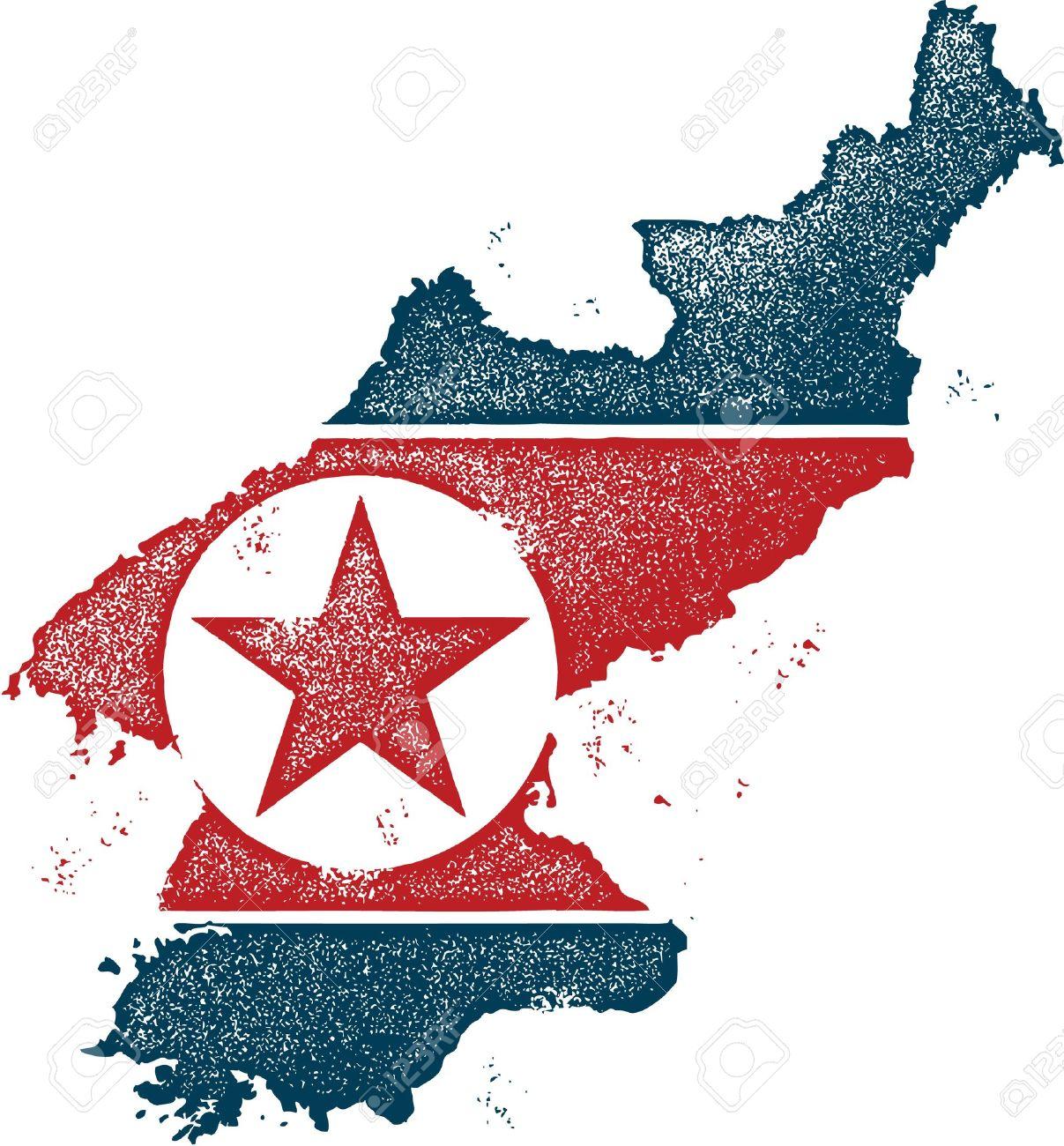 North Korea Country Clip Art.