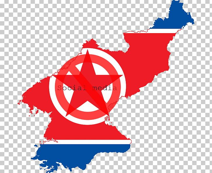 Flag Of North Korea Flag Of South Korea Korean War PNG.