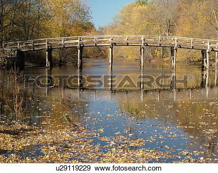 Stock Photograph of Concord, MA, Massachusetts, Lexington, Minute.