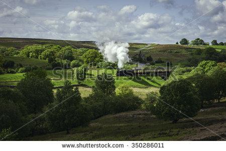 Yorkshire Moors Stock Photos, Royalty.