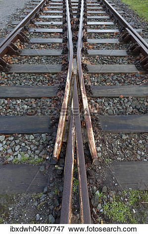 Picture of Railway tracks, Duisburg.