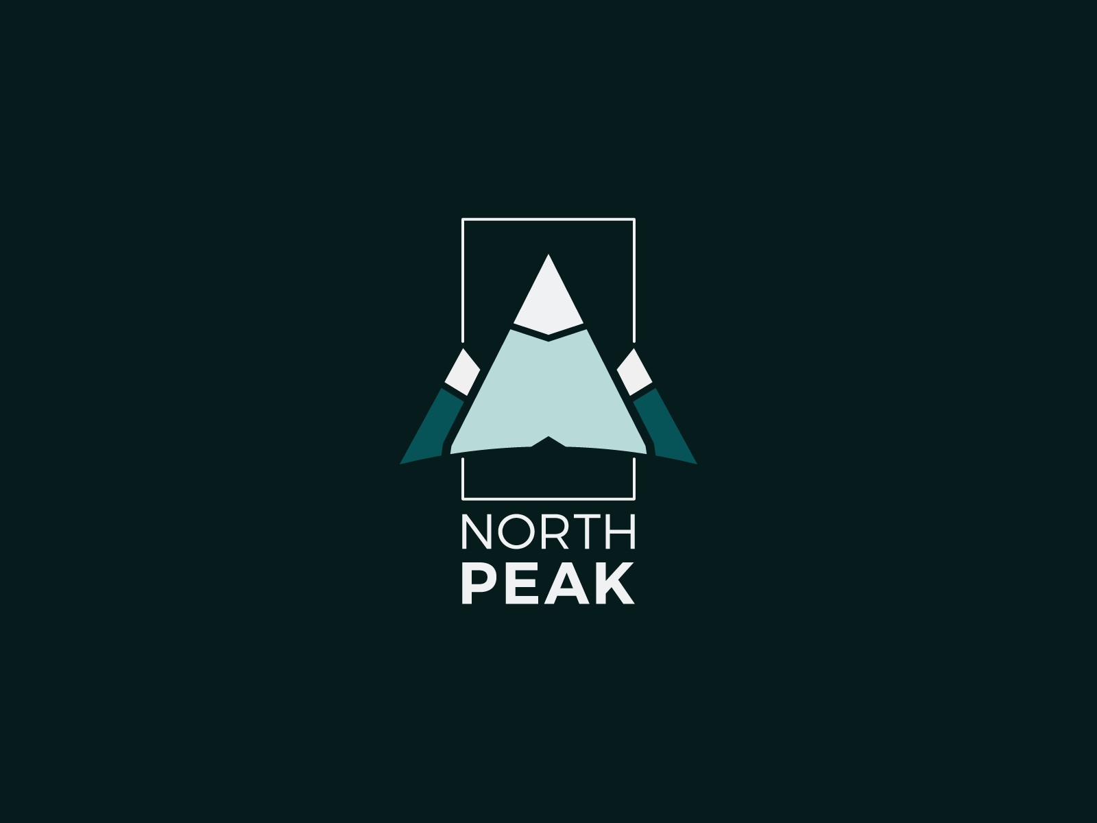 North Peak Logo by Mario Madjarov on Dribbble.