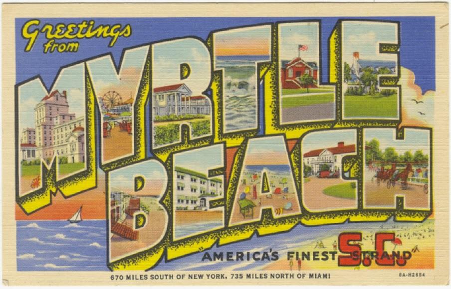 Myrtle Beach Clipart.