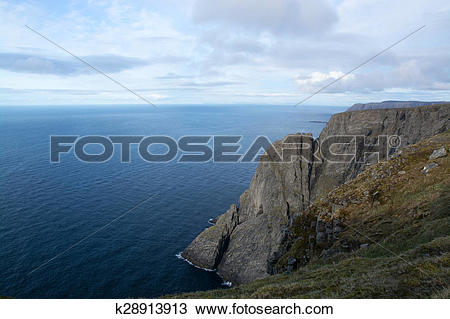 Stock Photo of North Cape, Norway k28913913.