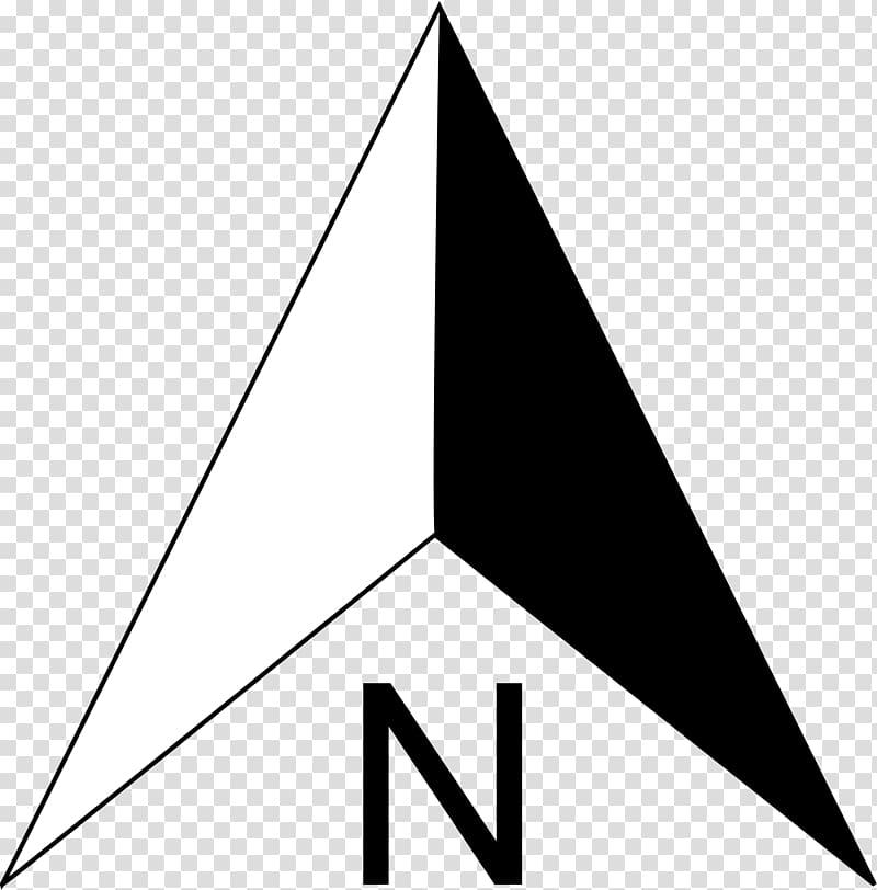 North Compass Arrow , compas transparent background PNG.
