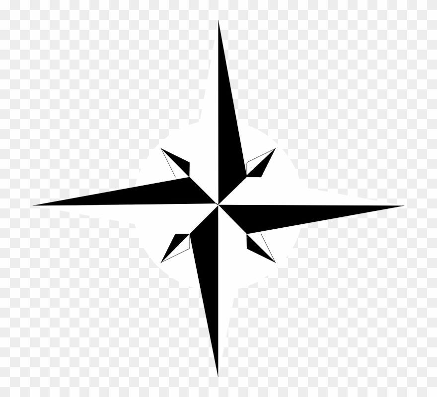 Compass Clipart North Point.