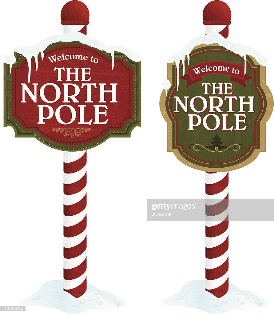 60 Top North Pole Stock Illustrations, Clip art, Cartoons.