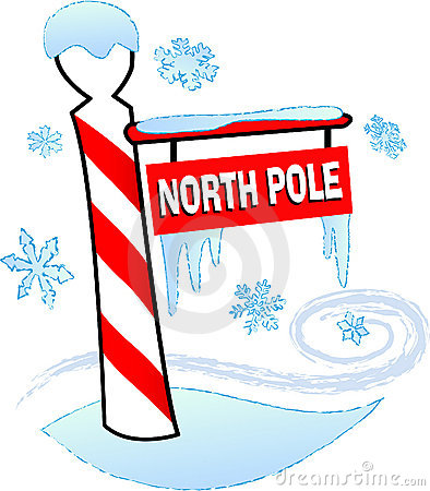 North Pole Cartoon.
