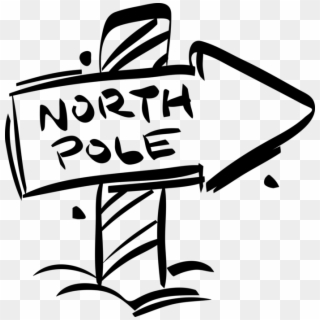 Free North Pole Sign Png Transparent Images.