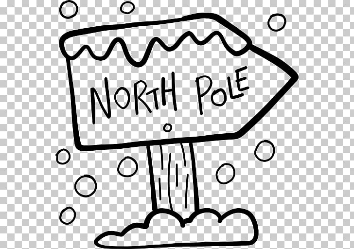 White Handwriting , North Pole PNG clipart.