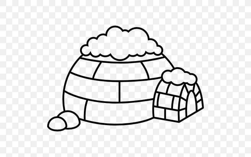Igloo North Pole Clip Art, PNG, 512x512px, Igloo, Area.