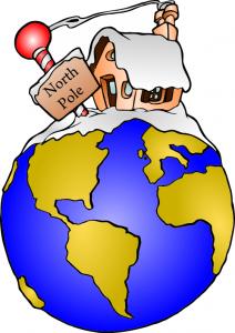 North Pole On Globe Clip Art Download.