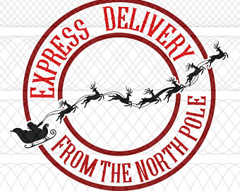 North Pole Express Clipart.
