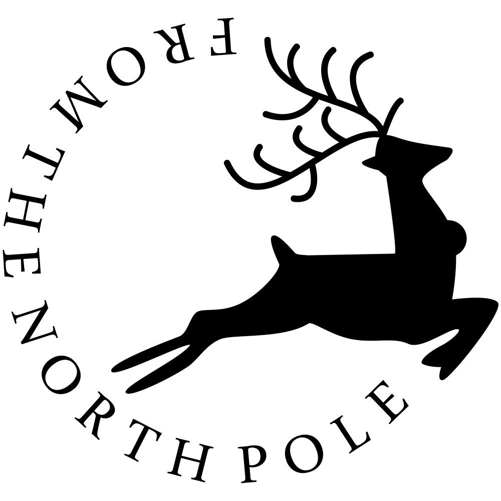 Amazon.com: From the North Pole Craft Stamp.