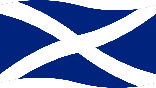 Clipart scotland flag.