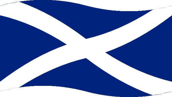 Clipart scotland flag.