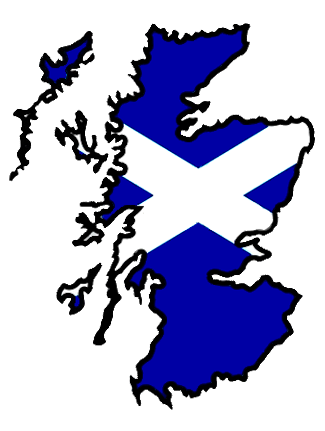 Clipart scottish flag.