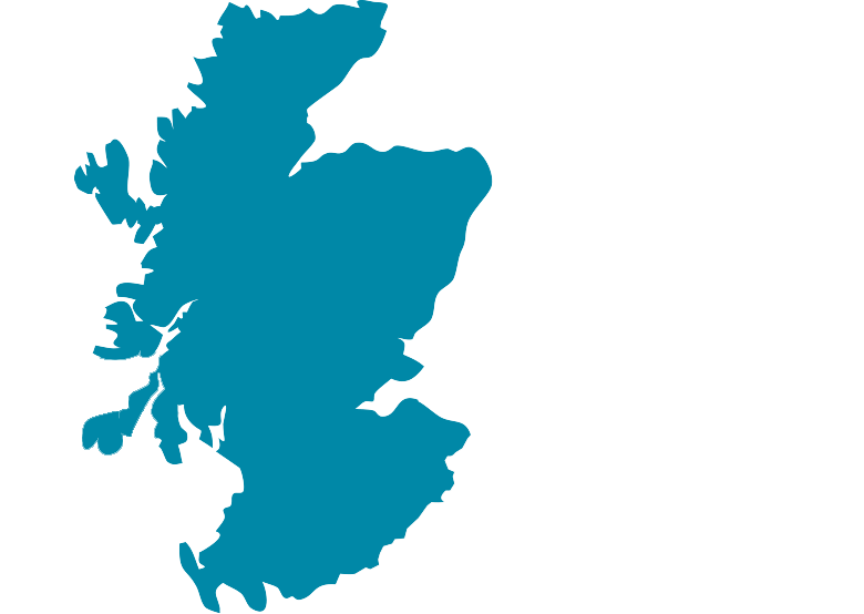 Map of scotland clipart.