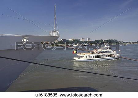 Stock Image of Belgium, Antwerpen, Antwerp, Europe, North Sea.