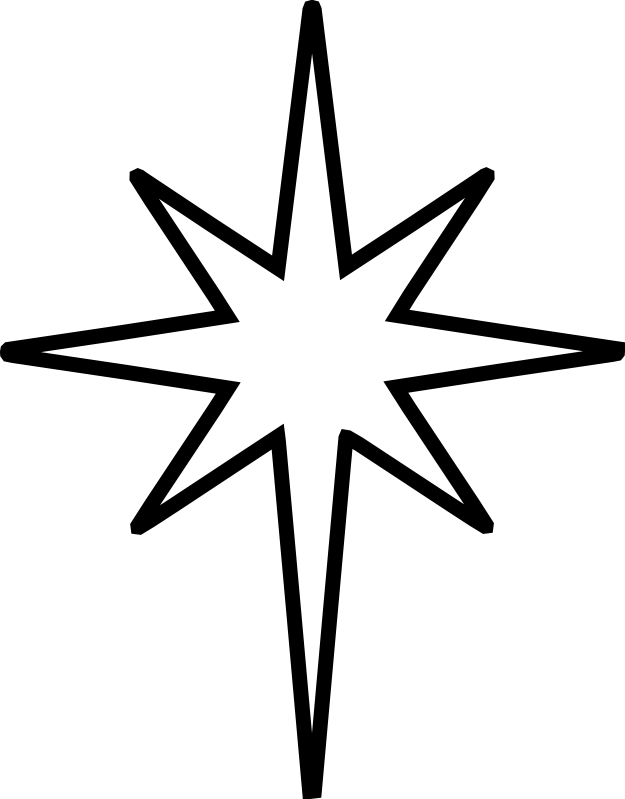 North Star Clipart Clipground