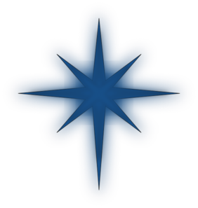 Polaris North Star Clipart.