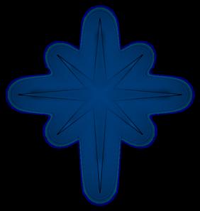 Polaris North Star Clipart.