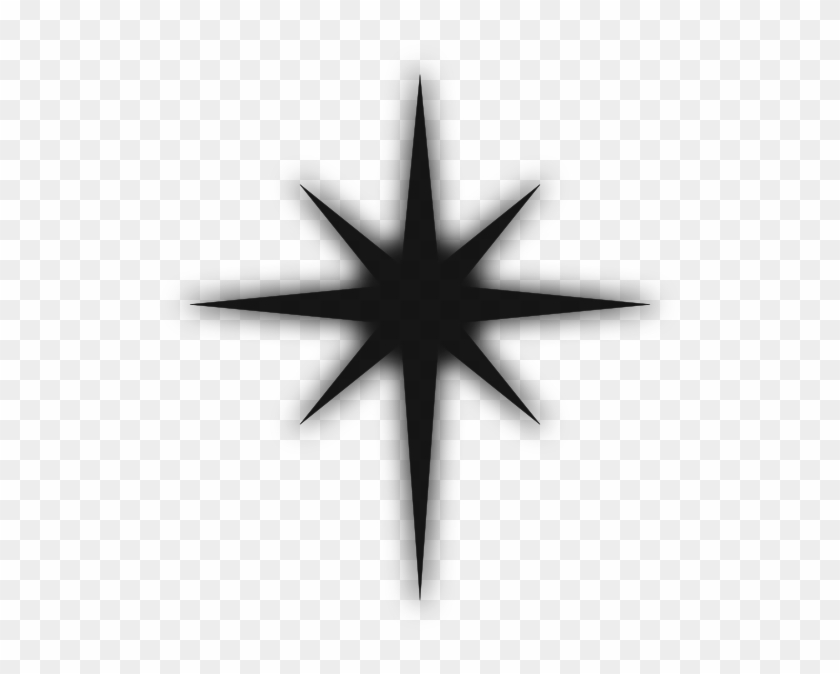 Collection Of 14 Free Compassed Clipart North Star.