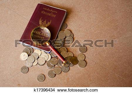 Stock Photo of Passport to North Thailand Thailand Thailand not to.
