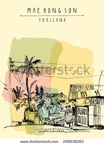 Northern Thailand Tradition Stock Vectors & Vector Clip Art.