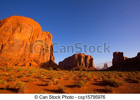 Picture of Monument Valley North Window view Utah.