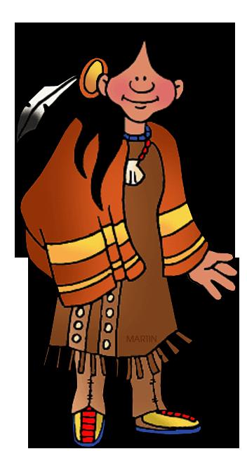 Free Native Americans Clip Art by Phillip Martin, Northeast.