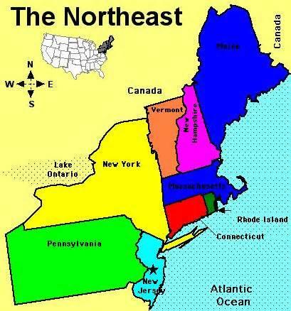 Northeastern clipart.