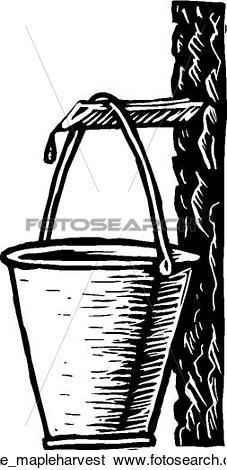 Clip Art of maple harvest rr_ne_mapleharvest.