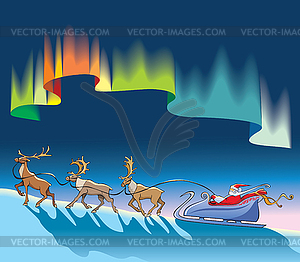 Northern Lights Clipart.
