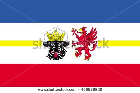 Flag Of Mecklenburg.