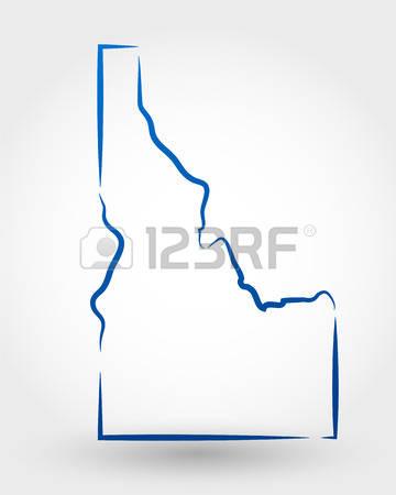 260 Idaho Drawing Stock Vector Illustration And Royalty Free Idaho.