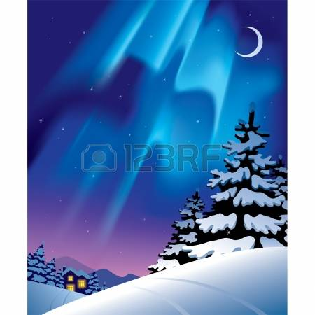 1,483 Northern Lights Cliparts, Stock Vector And Royalty Free.