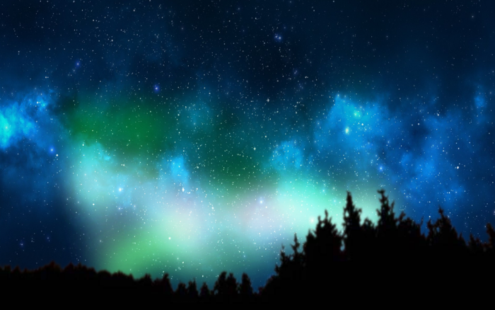 Northern Lights Png Vector, Clipart, PSD.