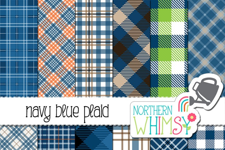 Boy Dog Digital papers and Clipart by JennyL Designs.