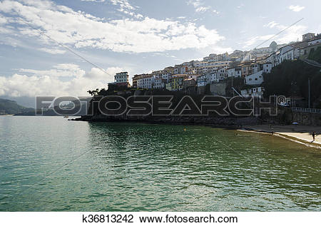 Stock Photo of Rustic village in northern Spain k36813242.